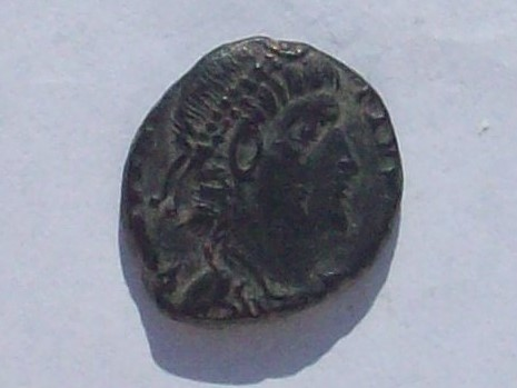 AE4 de Constancio II. GLORIA EXERCITVS 102_4298