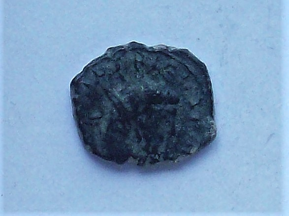 Antoniniano imitativo de Tétrico I, reverso de Galieno. APOLLINI CONS AVG 102_4449