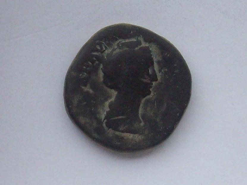 Sestercio de Faustina I. AVGV-STA. Ceres estante a izq. Roma. 102_4516
