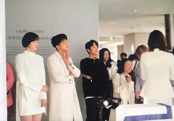KIM JEONG HOON COMO INVITADO EN UNA FIESTA PRIVADA DE LA MARCA CROWN GOOSE Foto_112