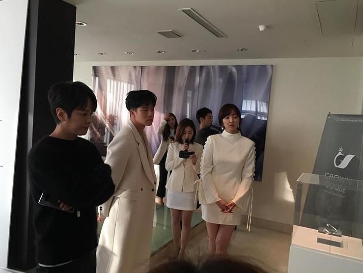 KIM JEONG HOON COMO INVITADO EN UNA FIESTA PRIVADA DE LA MARCA CROWN GOOSE Foto_115