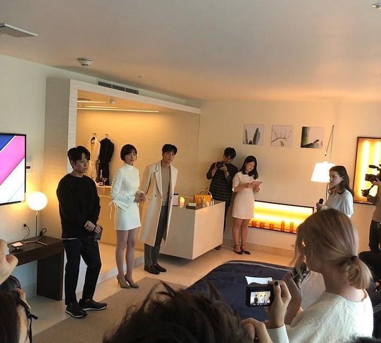 KIM JEONG HOON COMO INVITADO EN UNA FIESTA PRIVADA DE LA MARCA CROWN GOOSE Foto_130