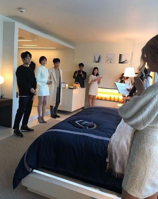 KIM JEONG HOON COMO INVITADO EN UNA FIESTA PRIVADA DE LA MARCA CROWN GOOSE Foto_131