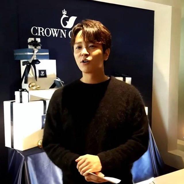 KIM JEONG HOON COMO INVITADO EN UNA FIESTA PRIVADA DE LA MARCA CROWN GOOSE Foto_134