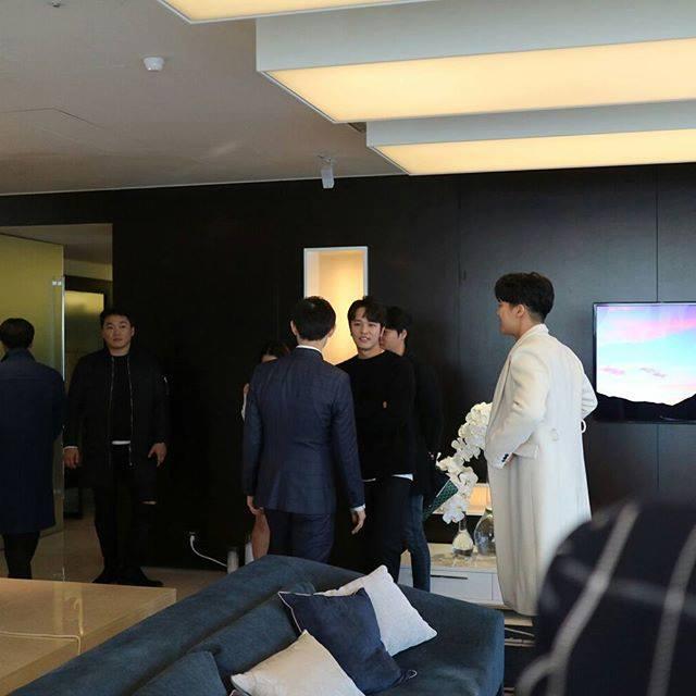 KIM JEONG HOON COMO INVITADO EN UNA FIESTA PRIVADA DE LA MARCA CROWN GOOSE Foto_137