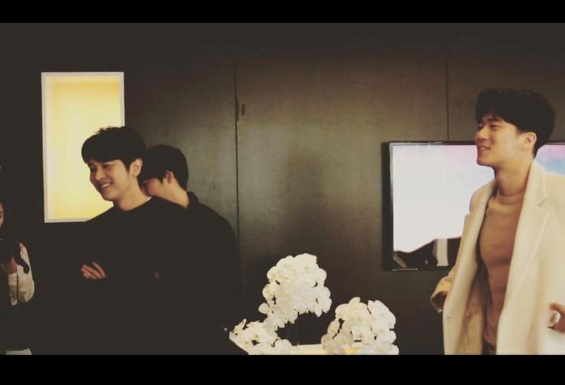 KIM JEONG HOON COMO INVITADO EN UNA FIESTA PRIVADA DE LA MARCA CROWN GOOSE Foto_144