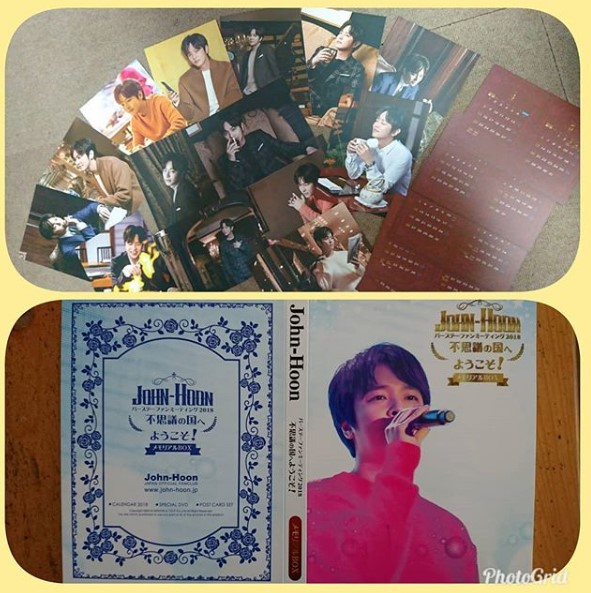 "SE PONE EN VENTA EL MEMORIAL BOX ""JOHN-HOON BIRTHDAY FAN MEETING 2018"" Image104"