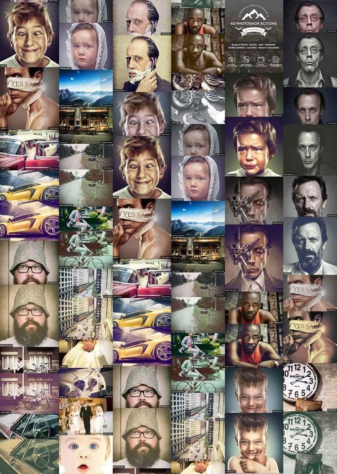 60 اكشن فوتوشوب جديد لتاثيرات على الصور بشكل خورافي Fb_img12