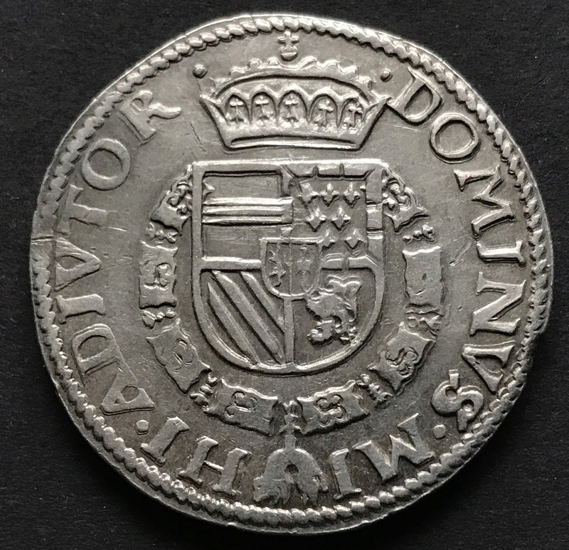 Felipe II - Daalder 1584 Nimega Img_5911