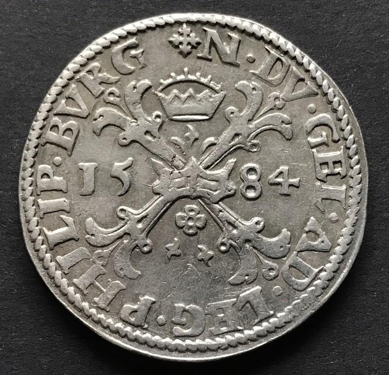 Felipe II - Daalder 1584 Nimega Img_5912