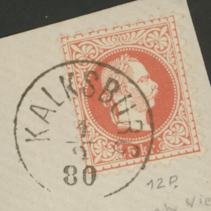ungarn - Österreich-Ungarn - Fragen zu Stempeln Kalksb11