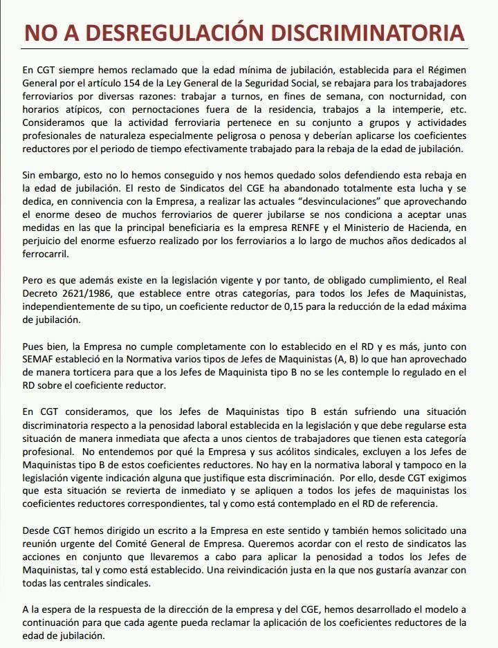 Renfe. Plan desvinculaciones 2018 26904411
