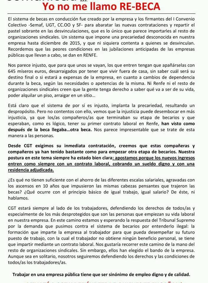 PLAN RRHH RENFE MAQUINISTAS-BECARIOS 645 € - Página 3 28279910