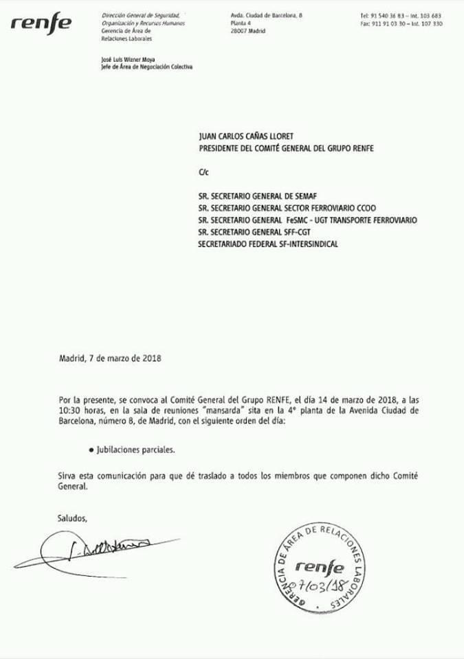 Renfe. Plan desvinculaciones 2018 29101610