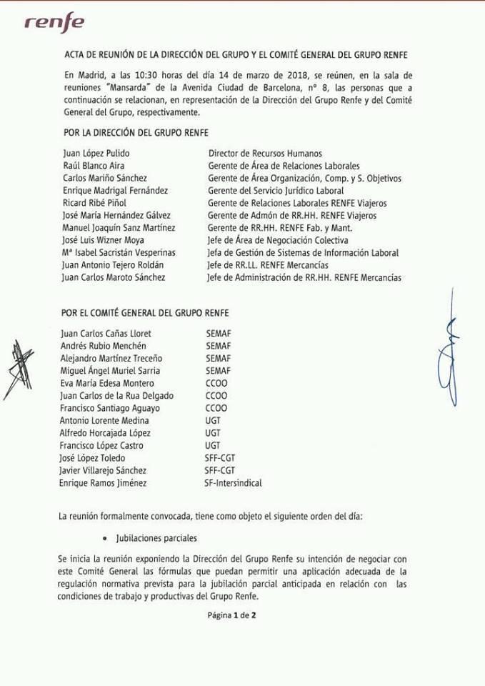 Renfe. Plan desvinculaciones 2018 29186410