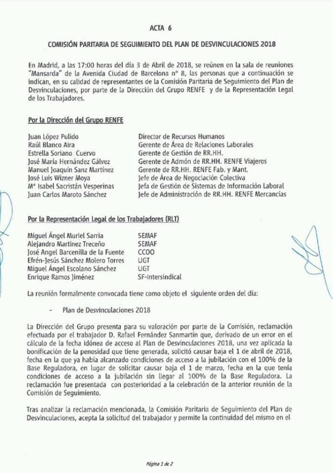 Renfe. Plan desvinculaciones 2018 29790710