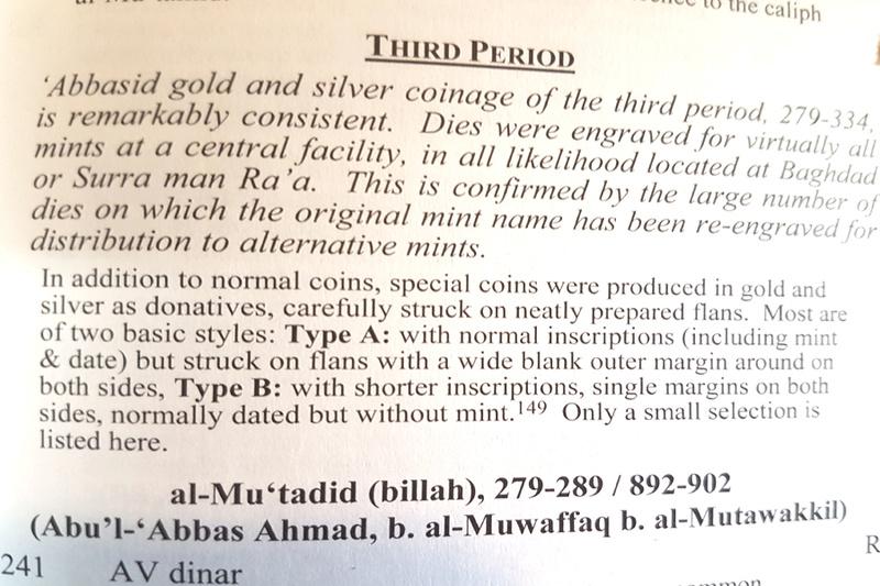 Dírhem abasida del 309 H, Medinat al-Salam, Ja'far al-Muqtadir 309_311