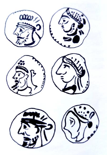 AE dracma de Orodes V Orodes14
