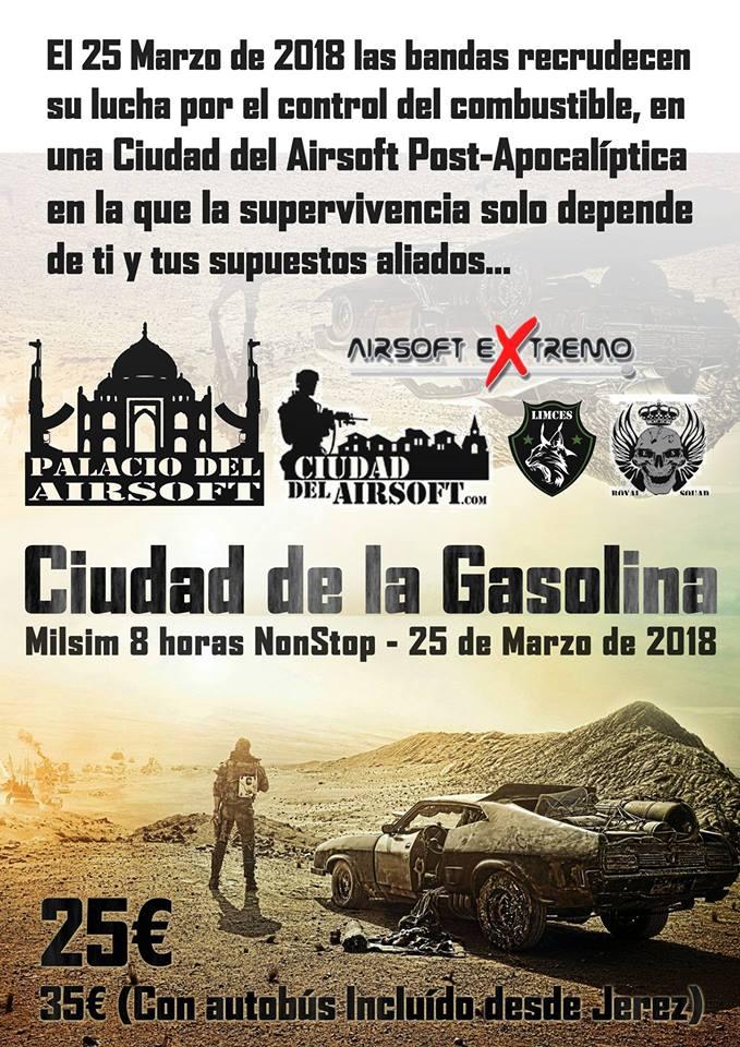 MILSIM / ROL 8h Ciudad de la gasolina | 25 marzo | CDA (Málaga) 26993810