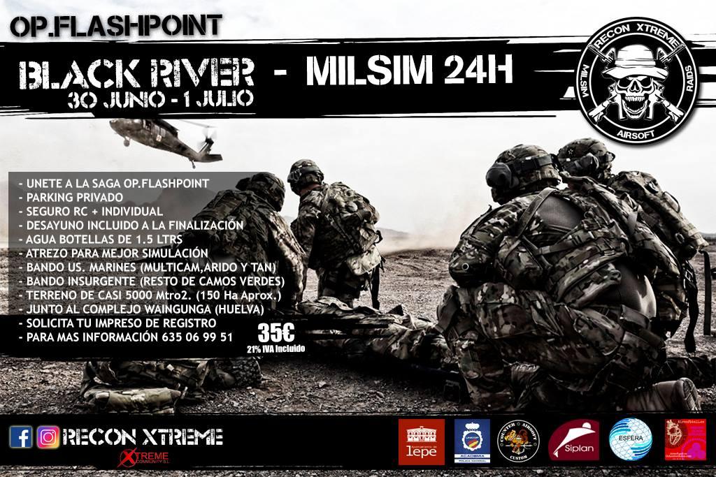 "Milsim 24h ""Black River"" | 30 junio - 1 julio | Lepe (Huelva) 33923210"