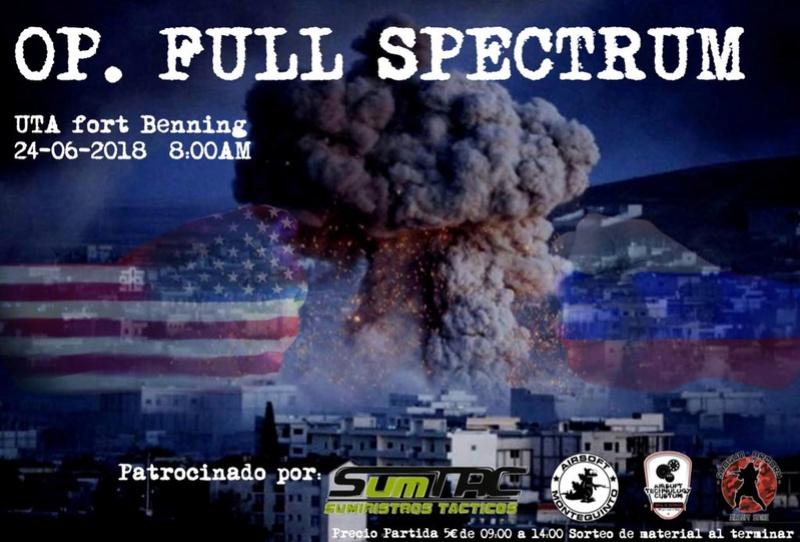 Op. FULL SPECTRUM | 24 junio | Fort Benning (El Ronquillo) Aafb7510