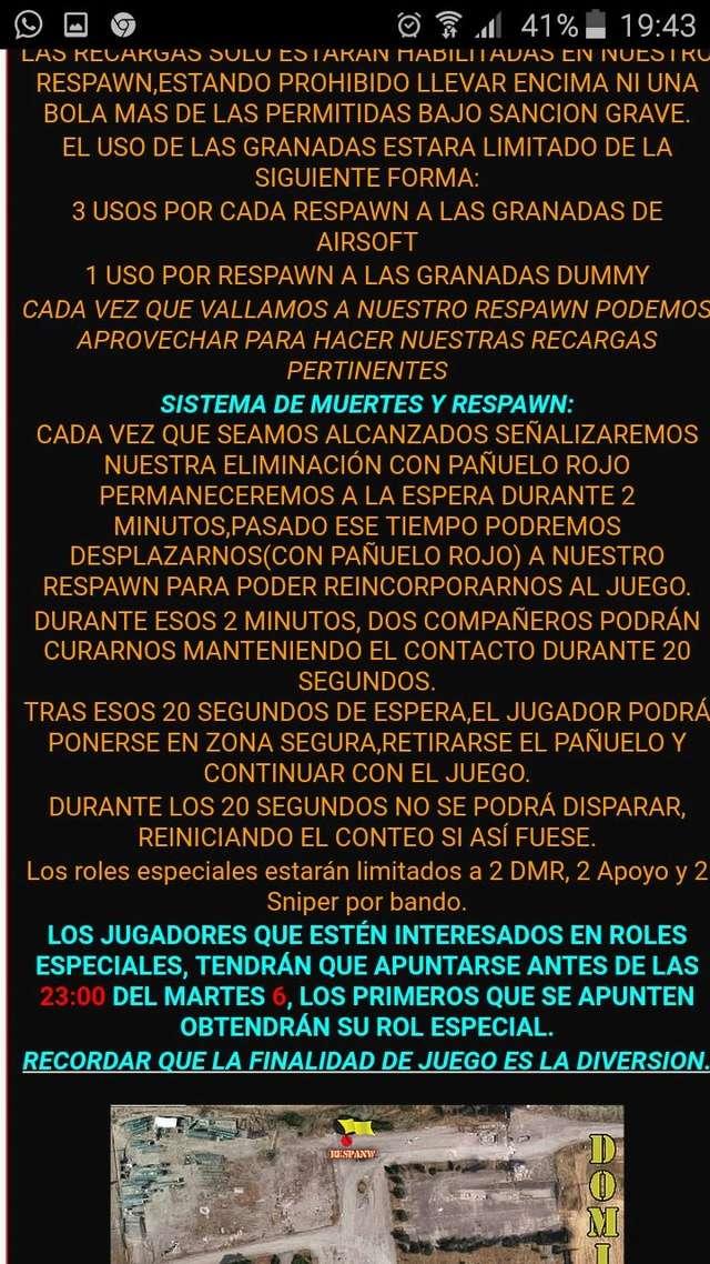 PARTIDA  | 11 marzo  | Zona Iccosa (Córdoba) Whatsa13
