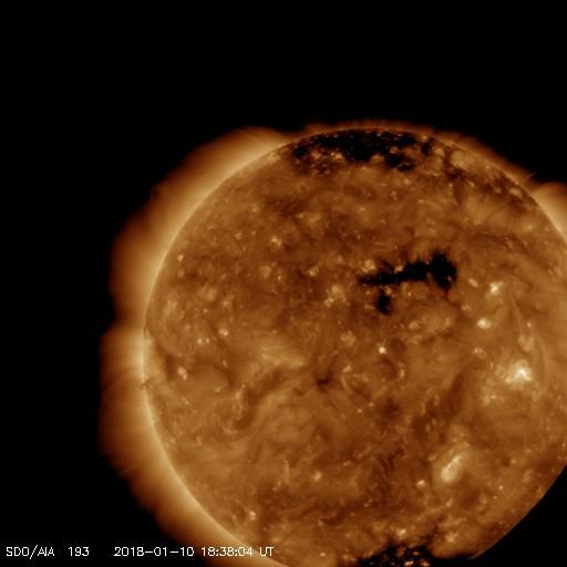 Monitoreo de la Actividad Solar 2018 20180121