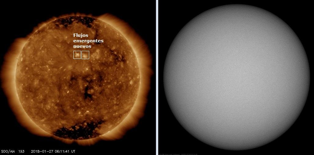 Monitoreo de la Actividad Solar 2018 20180132