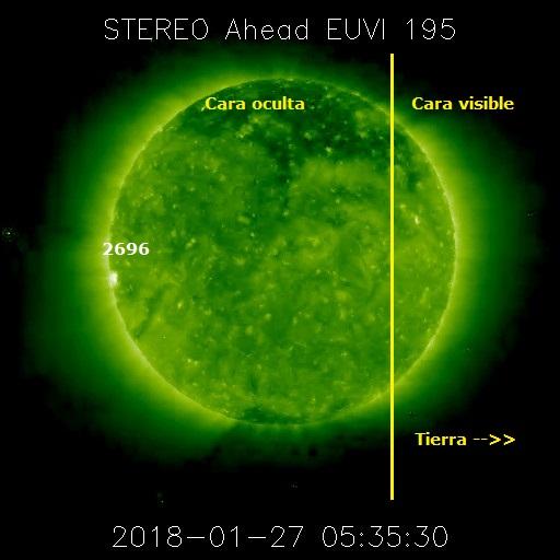 Monitoreo de la Actividad Solar 2018 20180133