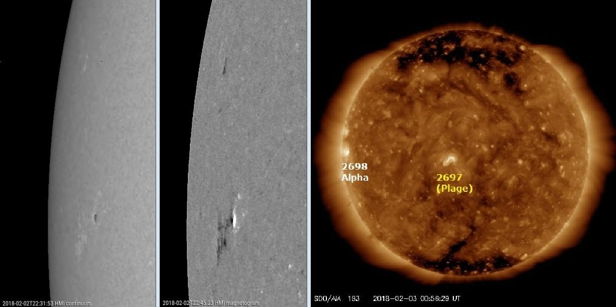 Monitoreo de la Actividad Solar 2018 20180210