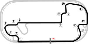 2ª Carrera de la T3, Indianapolis GP con el Formula Renault Indigp10