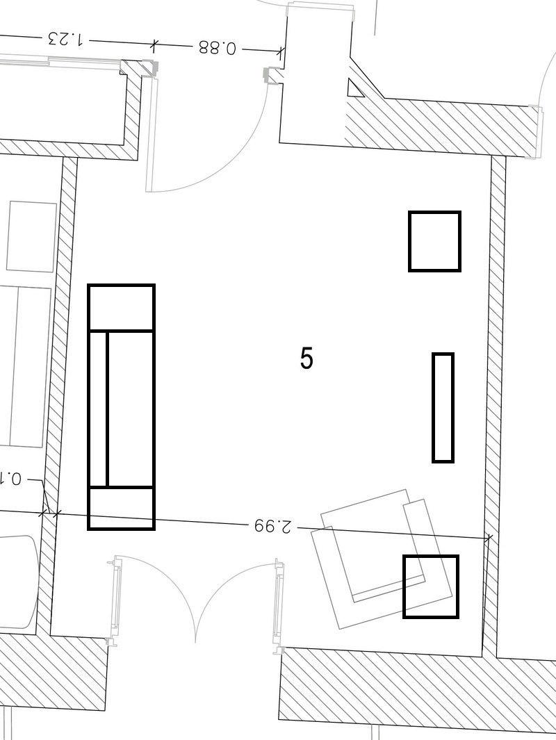 Posición de cajas y reflexiones 113