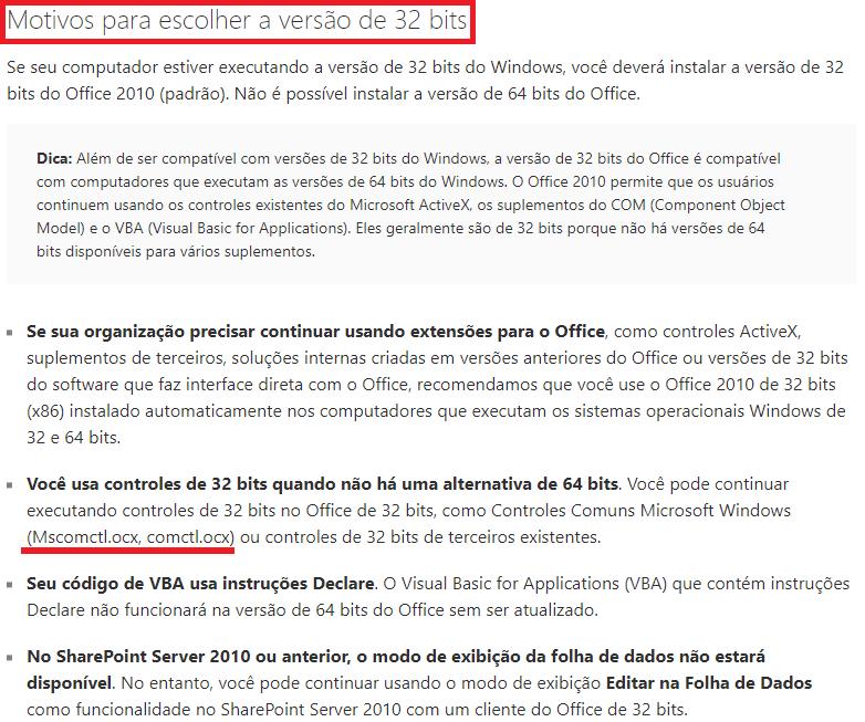 """[Resolvido] Problema com Referencia """"Microsoft Windows Common Controls 6.0 (SP6)"""" 033"""