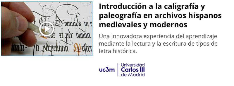 Curso gratuito de Introducción a la Caligrafía y Paleografía Captur10