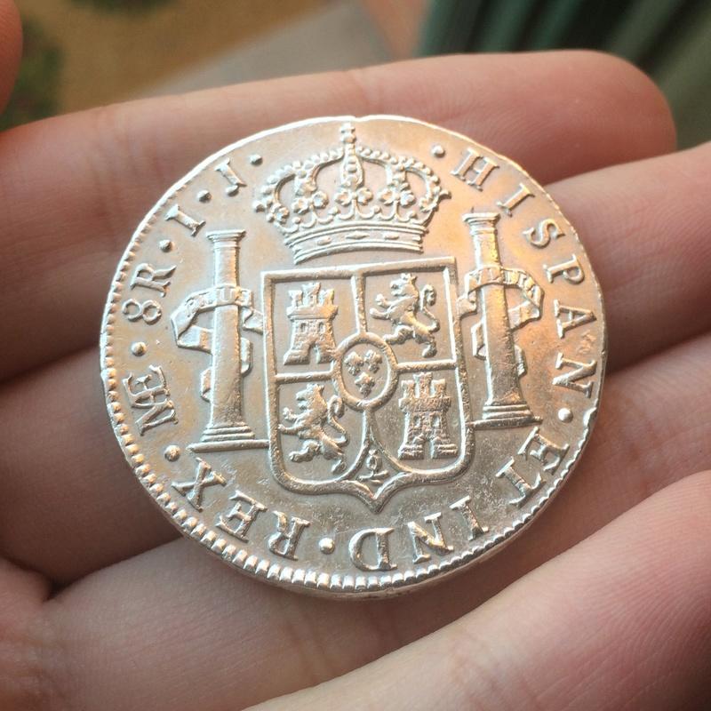 8 Reales 1799. Carlos IV. Lima Fullsi13