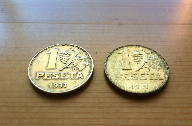 1 Peseta 1937 II República ¿Variante? Fullsi16