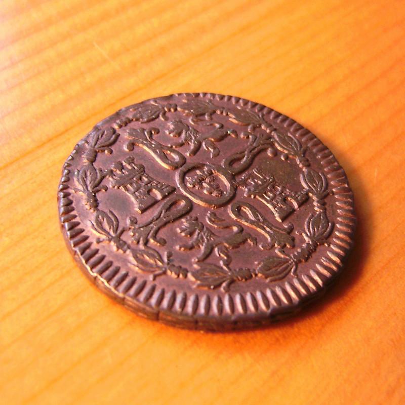 8 Maravedís 1817. Fernando VII. Jubia Sany4311