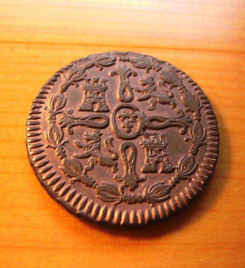 8 Maravedís 1817. Fernando VII. Jubia Sany4313