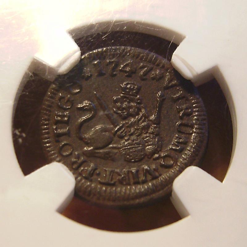 1 Maravedí - Fernando VI - 1747 (MS62) BN Sany4318
