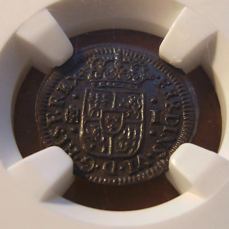 1 Maravedí - Fernando VI - 1747 (MS62) BN Sany4319