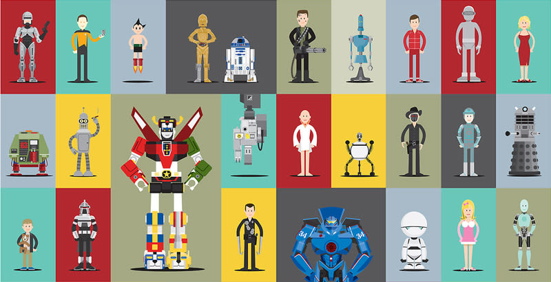 Robots y cine olvidado 1986ki10