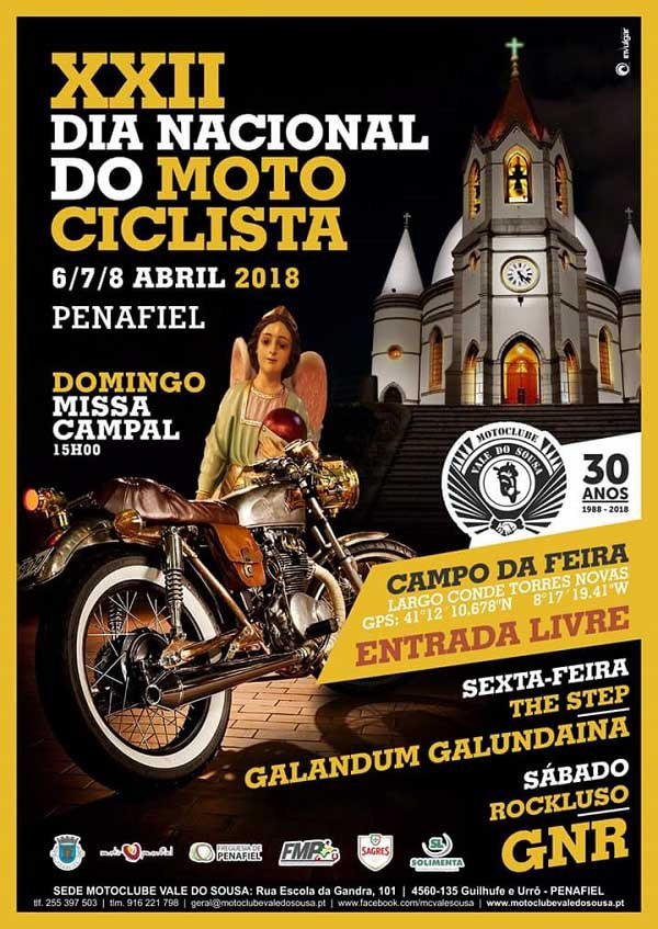 Dia Nacional do Motociclista, 6,7 e 8 de Abril 2018 Dia-do10