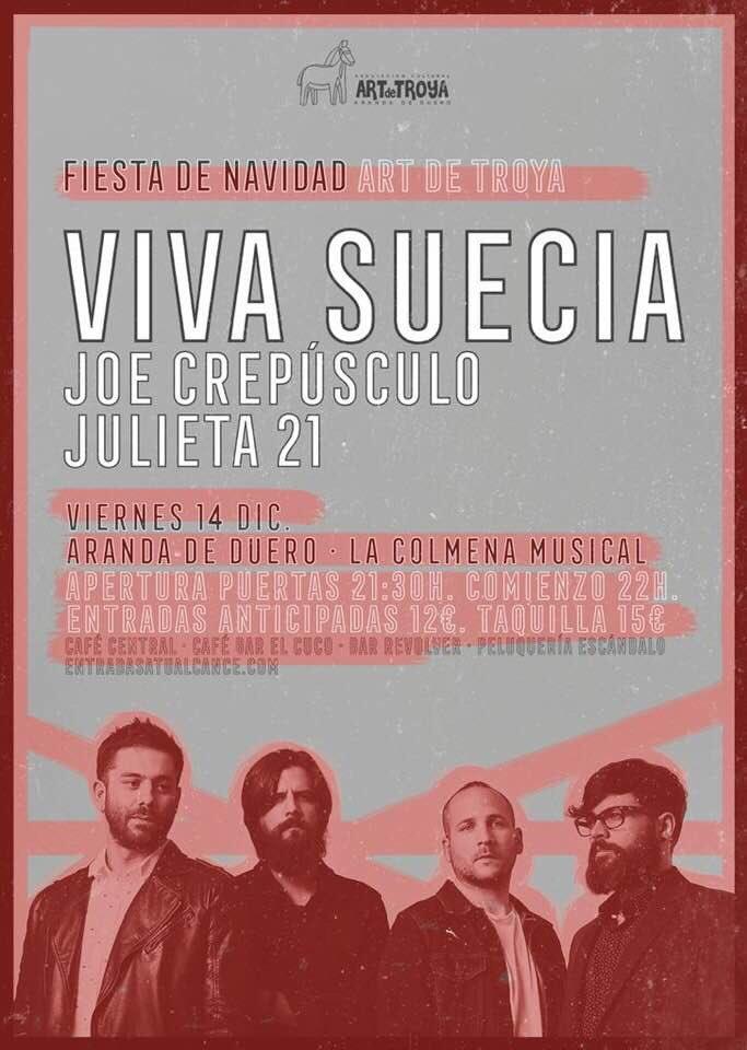 """VIVA SUECIA  """"El Milagro"""" Nuevo disco el 4 de Octubre. - Página 7 Vsaran10"""