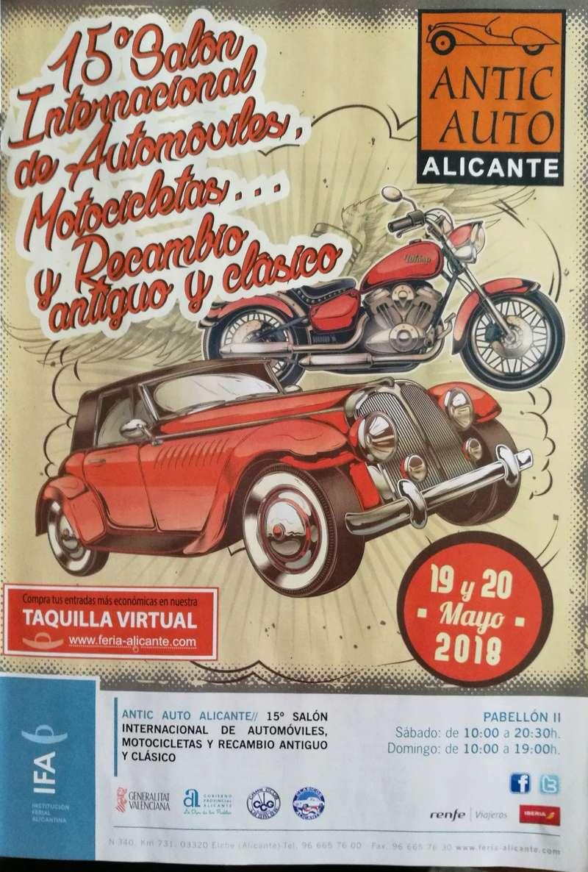 15° Salon Internacional Automóvil, Motocicletas y Recambio Antiguo y Clásico Img_2081