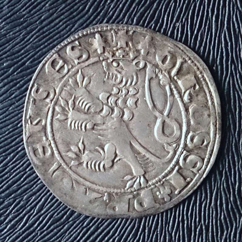 Gros de Praga (1310-1346) Bohemia 1310a10