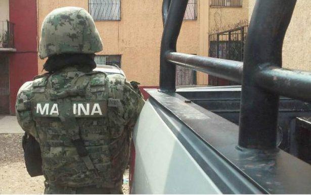 Operativo de la Secretaria de Marina y Policia Federal en Jalisco y Nayarit. Vallar10