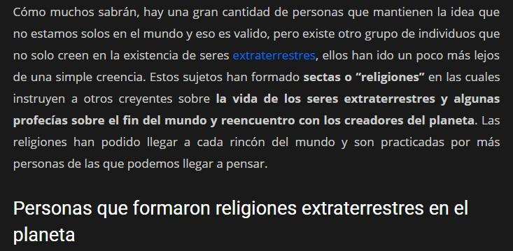 RELIGIONES EXTRATERRESTRES EN NUESTRO PLANETA Pais12