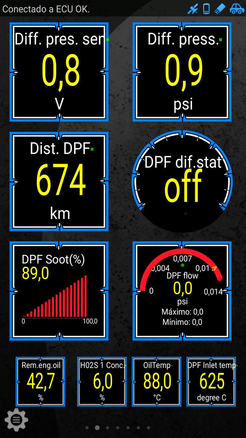 Problema oficial con filtro antiparticulas y catalizador Opel astra k Screen13