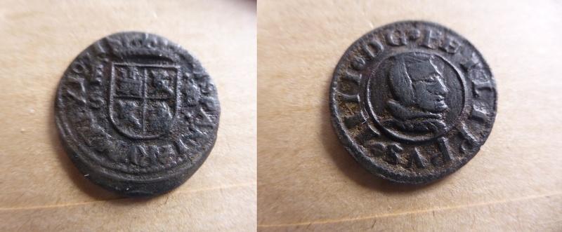 8 maravedís Felipe IV -  1661 -ceca de Segovia  P1050917