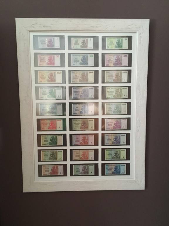 Presentación billetes, dollar Zimbabwe 4b145e10